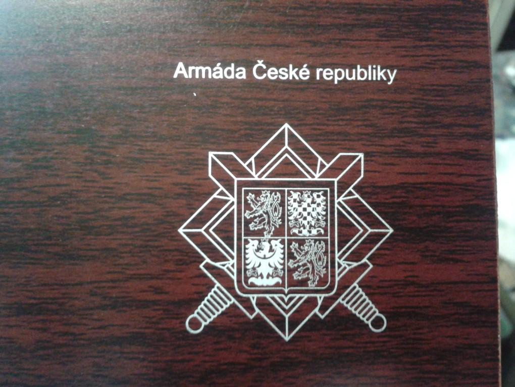 Náš potisk dřevěných předmětů pro Armádu České republiky