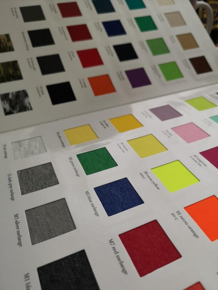 Vyberte si ideální barvu ze vzorníku